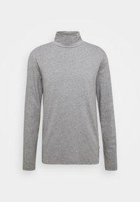 TURTLE NECK TEE - Top sdlouhým rukávem - light grey mel