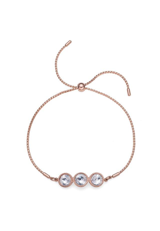 JOY STE - Bracelet - rosegold