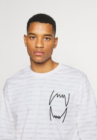 Puma - HOOPS TEE - Long sleeved top - white - 3