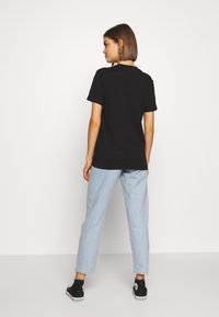Vans - THREAD TEE - T-shirt med print - black - 2