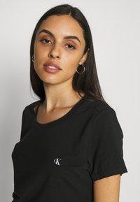 Calvin Klein Underwear - CK ONE CREW NECK 2 PACK - Maglia del pigiama - black - 3