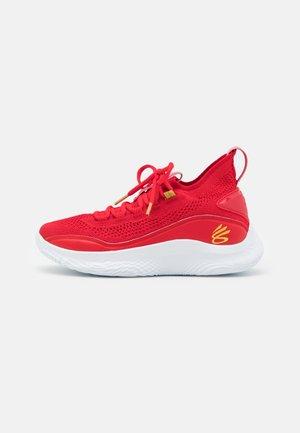 CURRY 8 UNISEX - Basketbalové boty - red