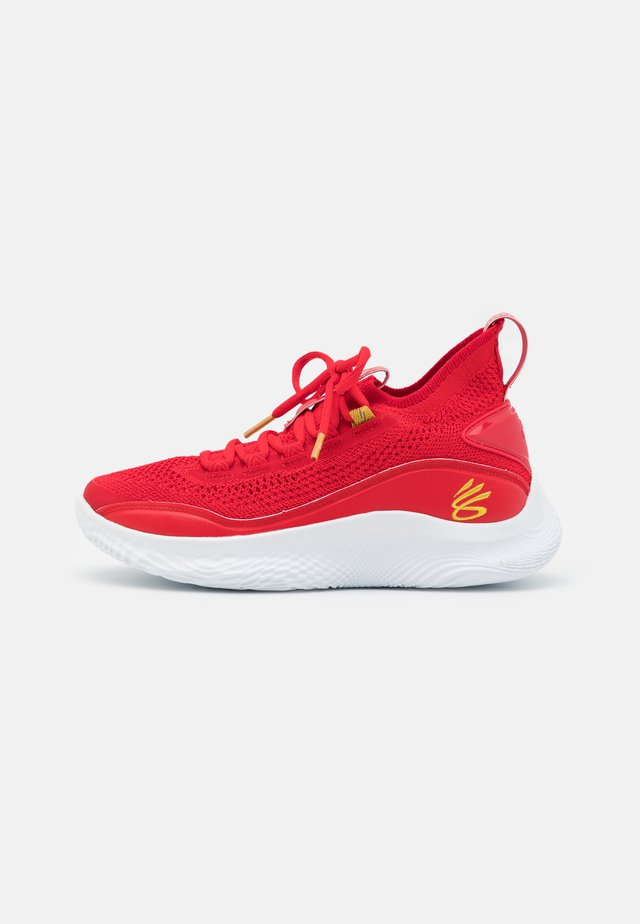 CURRY 8 UNISEX - Chaussures de basket - red