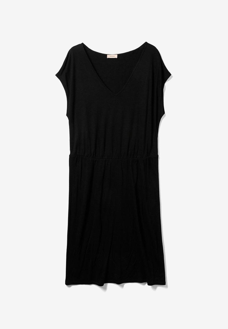 Triangle - Jersey dress - black