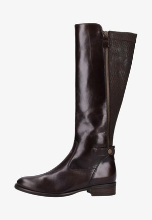 Over-the-knee boots - espresso