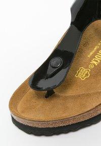 Birkenstock - GIZEH - T-bar sandals - schwarz - 2