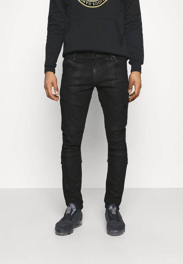 AIRBLAZE 3D SKINNY MERCHANT - Jeans Skinny Fit - elto nero black