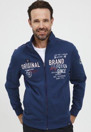 LENNE - Sweater met rits - estate blue