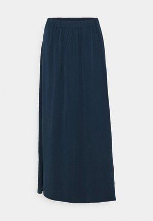 SKIRT - Maxi skirt - dress blue