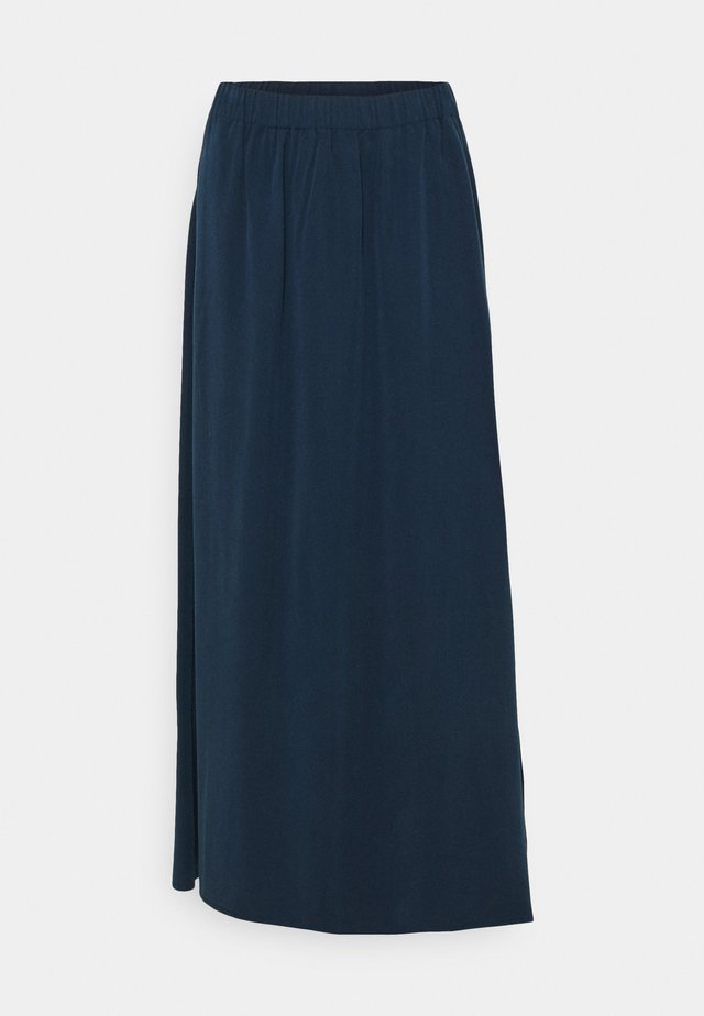 SKIRT - Jupe longue - dress blue