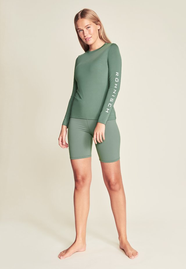 HERITAGE LONG SLEEVE - Long sleeved top - green