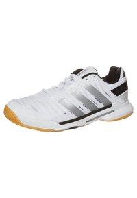 adidas Performance - ADIPOWER STABIL 10.1 - Handball shoes - running white/metallic silver - 0