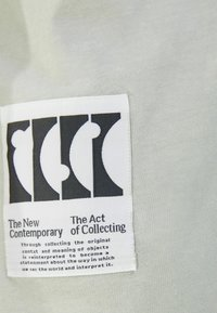 Bershka - Print T-shirt - grey - 5