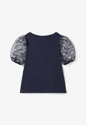 BALLONÄRMEL - Basic T-shirt - sky captain