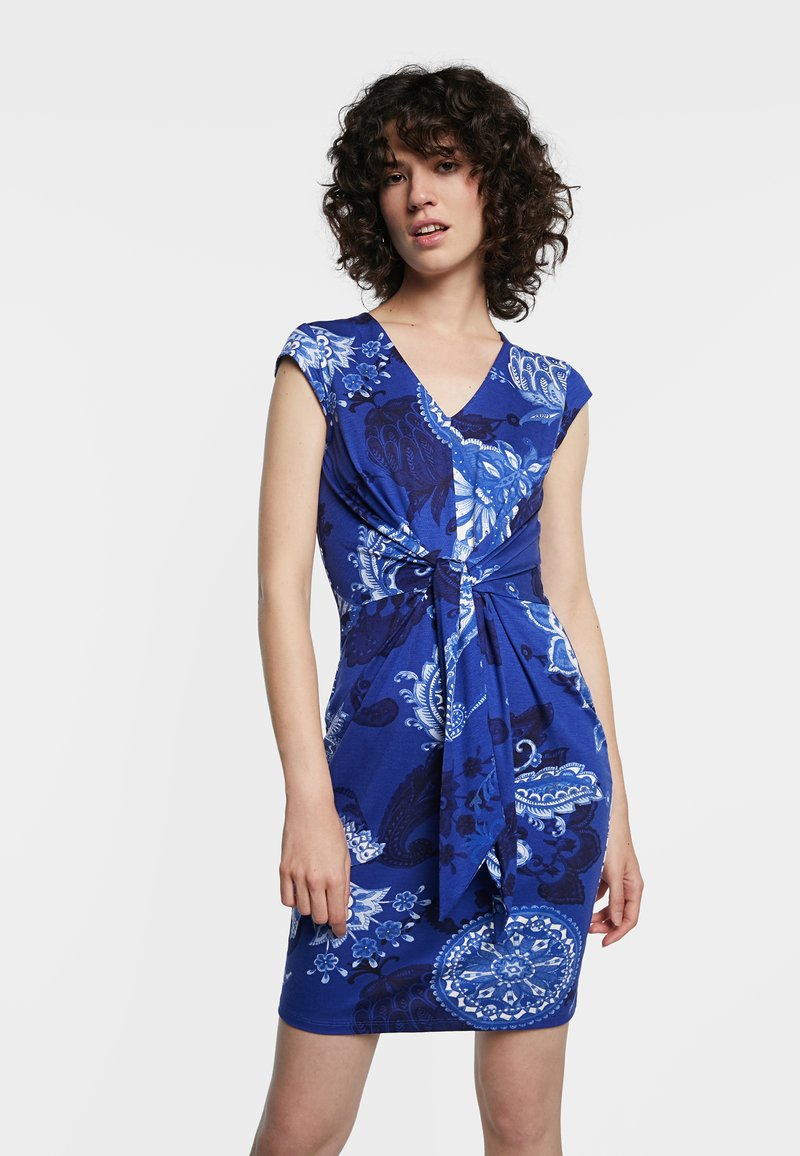 Desigual - SIBILA - Day dress - blue