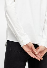 Pieces - Button-down blouse - bright white - 3