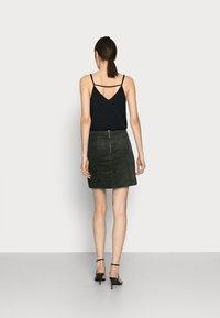 Glamorous Tall - LADIES SKIRT  - Minisukně - dark green - 2
