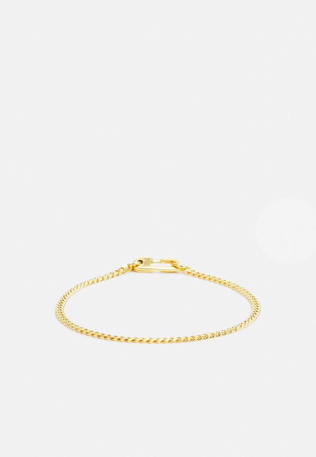 ANNEX CUBAN CHAIN BRACELET UNISEX - Armband - gold-coloured