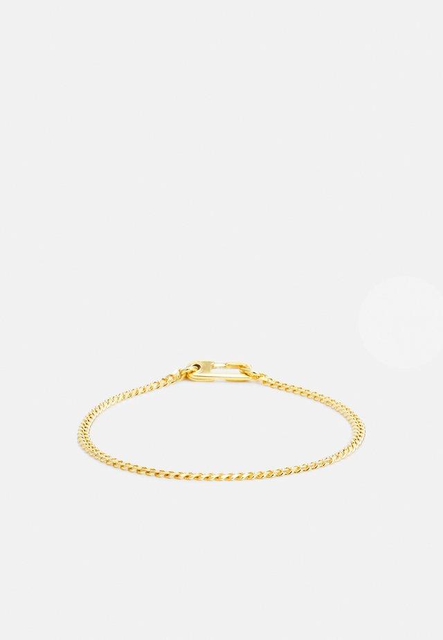 ANNEX CUBAN CHAIN BRACELET UNISEX - Rannekoru - gold-coloured