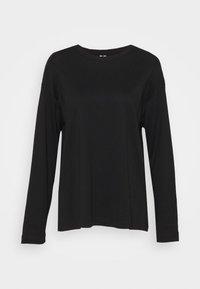 ARKET - JERSEY LONG SLEEVE - Long sleeved top - black - 4