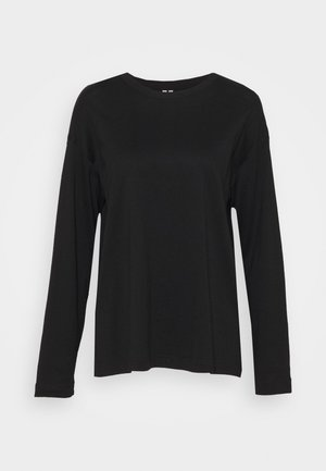 JERSEY LONG SLEEVE - Long sleeved top - black