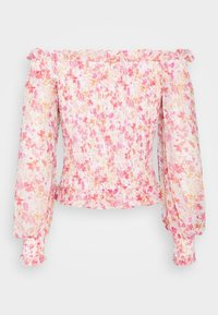 Forever New - TULIA SHIRRED BARDOT - Blouse - strawberry fields - 1