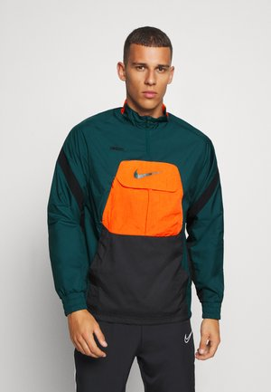 FC ANORAK - Training jacket - black/atomic teal
