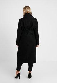 Anna Field Curvy - Classic coat - black - 2