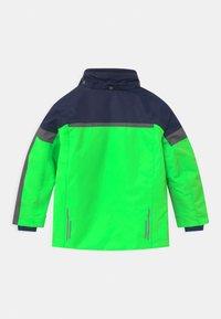 CMP - BOY SNAPS HOOD - Lyžařská bunda - verde fluo - 2