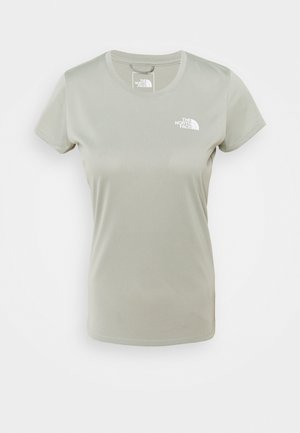 WOMENS REAXION CREW - Basic T-shirt - wrought iron