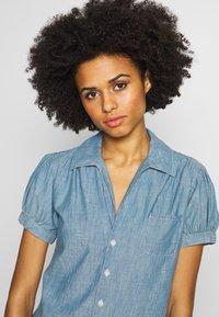 Polo Ralph Lauren - BELLA SHORT SLEEVE SHIRT - Skjorte - medium indigo - 5