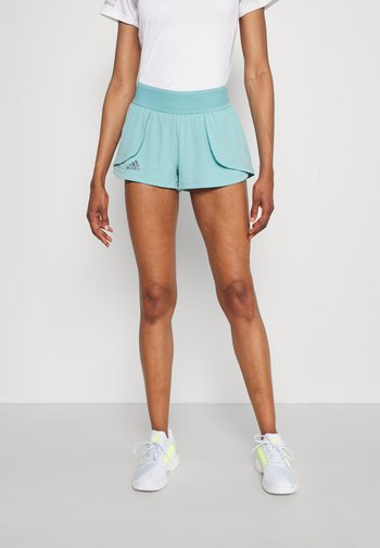MATCH SHORT - Pantalón corto de deporte - mint ton/black