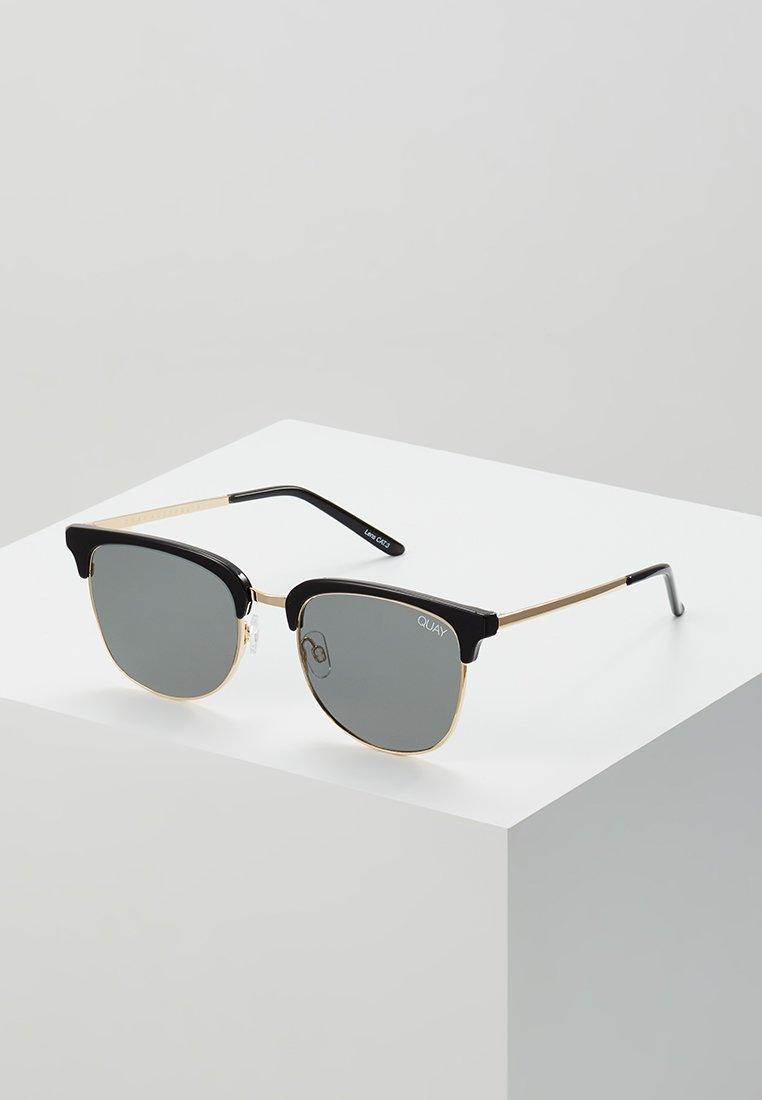 QUAY AUSTRALIA - EVASIVE - Sunglasses - high shine black/smoke