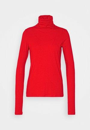 CHIE TURTLENECK - Langærmede T-shirts - red