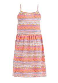 DeFacto - SUMMER - Jersey dress - pink/white - 1