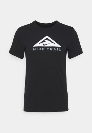 TEE TRAIL - T-shirt med print - black