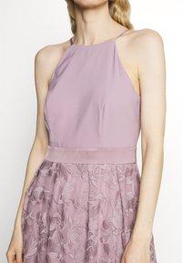 Esprit Collection - DRESS - Cocktail dress / Party dress - mauve - 5