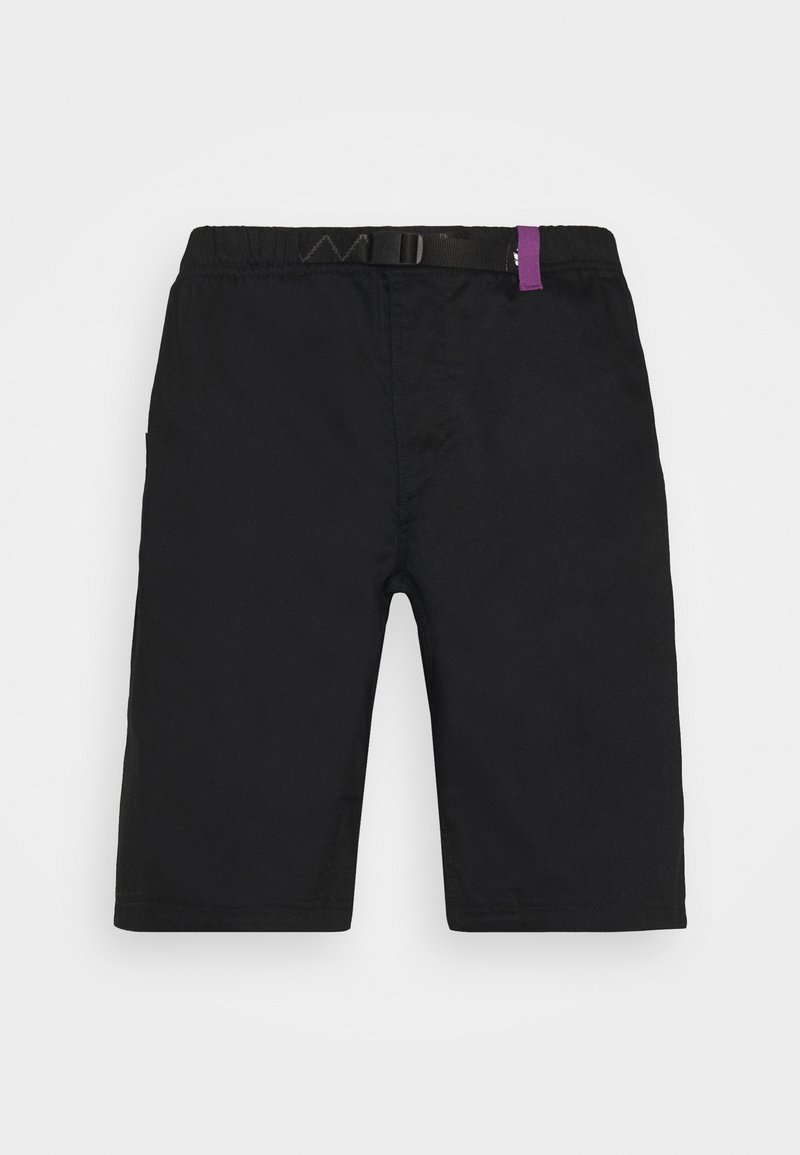 Jack Wolfskin - STAYAWAY  - Outdoor shorts - black/concord grap