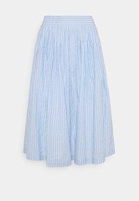 YAS - YASSTRILLA MIDI SKIRT - A-line skirt - cashmere blue - 0