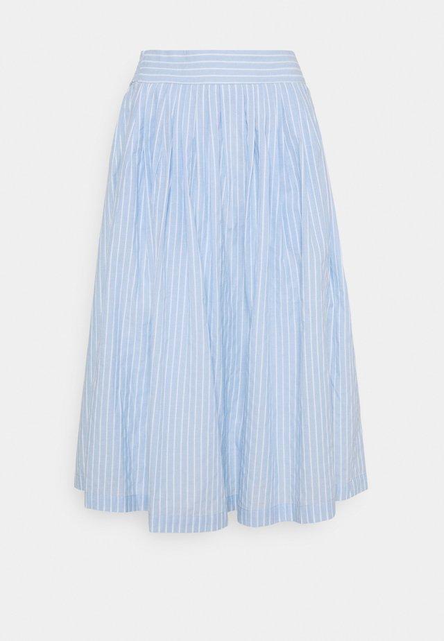 YASSTRILLA MIDI SKIRT - Áčková sukně - cashmere blue