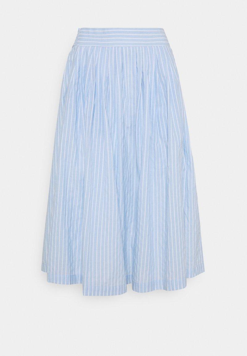 YAS - YASSTRILLA MIDI SKIRT - A-line skirt - cashmere blue