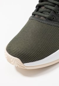 adidas Performance - GAMECOURT - Clay court tennis shoes - oliv - 5