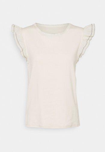 Print T-shirt - cashew