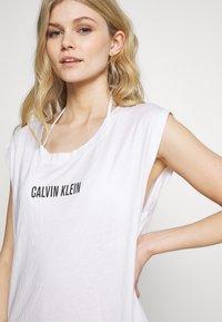 Calvin Klein Swimwear - INTENSE POWER DRESS - Doplňky na pláž - classic white - 4