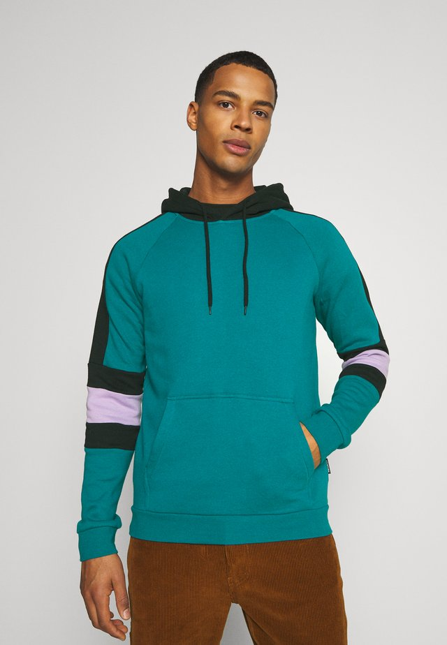 Jersey con capucha - teal