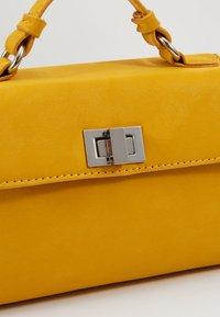 Gina Tricot - STINA MINI BAG - Bolso de mano - yellow - 6