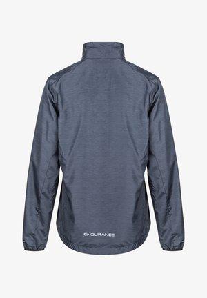 KANIE W MELANGE - Training jacket - 1111 black melange