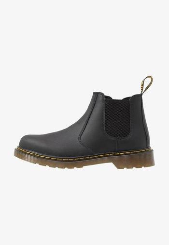 CHELSEA BOOT YOUTH - Kotníkové boty - black