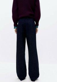 Uterqüe - Bootcut jeans - blue - 2