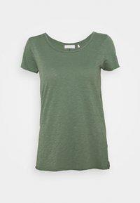 Rich & Royal - SLUB - T-shirts - eukalyptus - 0